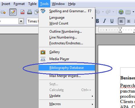 Bibliography builder